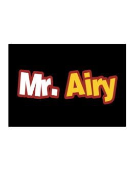 Mr. Airy Sticker