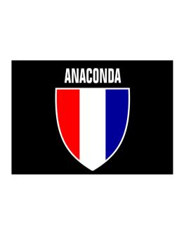 Anaconda Escudo Usa Sticker