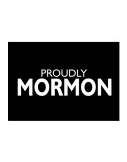 Proudly Mormon Sticker