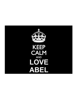 Keep calm and love Abel Sticker