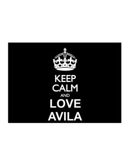 Keep calm and love Avila Sticker