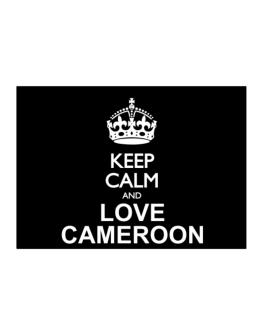 Keep calm and love Cameroon Sticker