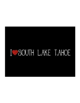 I love South Lake Tahoe cool style Sticker