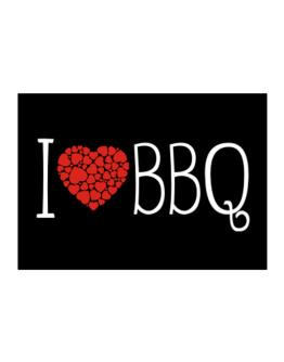 I love BBQ cool style Sticker
