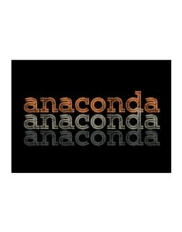 Anaconda repeat retro Sticker