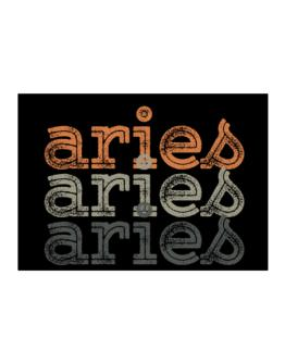 Aries repeat retro Sticker