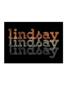 Lindsay repeat retro Sticker