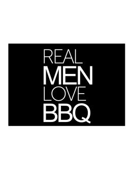 Real men love BBQ Sticker