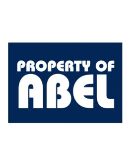 """ Property of Abel "" Sticker"