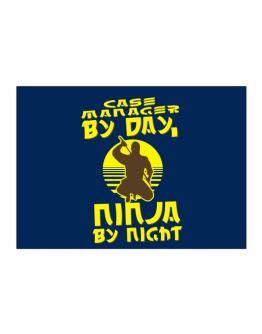 Case Manager By Day, Ninja By Night Sticker