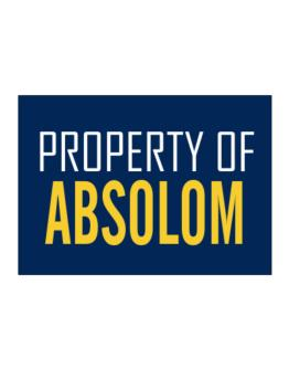 Property Of Absolom Sticker