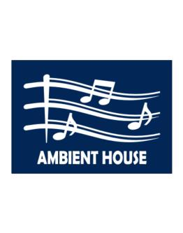Ambient House - Musical Notes Sticker