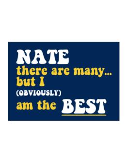 Nate There Are Many... But I (obviously) Am The Best Sticker