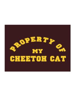 Property Of My Cheetoh Sticker