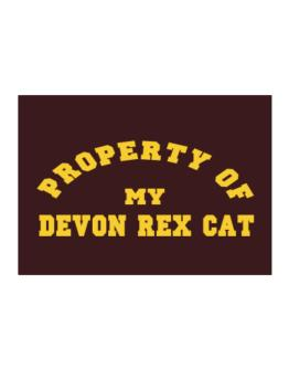 Property Of My Devon Rex Sticker