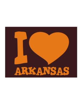 I Love Arkansas Sticker