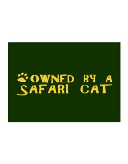 Owned By A Safari Sticker