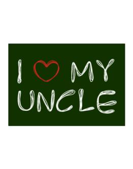 I love my Auncle Sticker