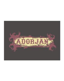 Adorjan Sticker