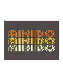 Aikido Retro Color Sticker