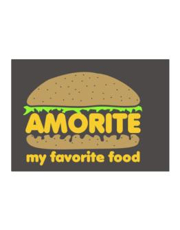 Amorite My Favorite Food Sticker