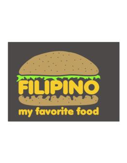 Filipino My Favorite Food Sticker