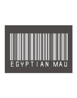 Egyptian Mau Barcode Sticker