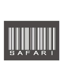 Safari Barcode Sticker