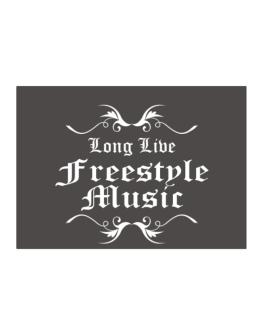 Long Live Freestyle Music Sticker