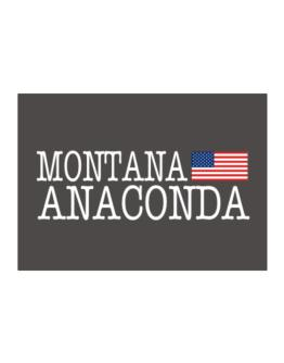 Anaconda State Sticker