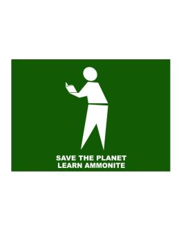 Save The Planet Learn Ammonite Sticker