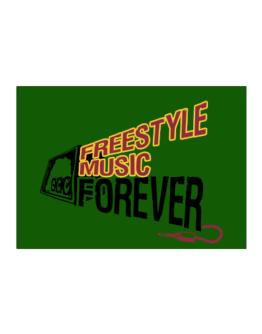 Freestyle Music Forever Sticker