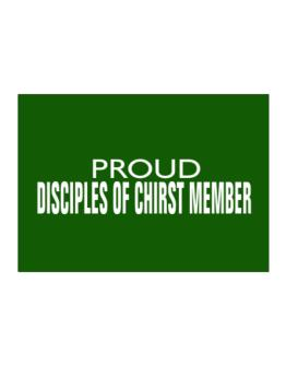 Proud Disciples Of Chirst Member Sticker
