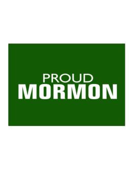 Proud Mormon Sticker