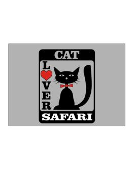 Cat Lover - Safari Sticker