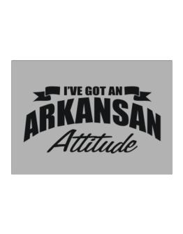 Arkansan Attitude Sticker