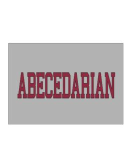 Abecedarian - Simple Athletic Sticker