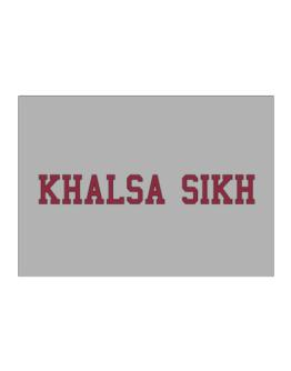 Khalsa Sikh - Simple Athletic Sticker