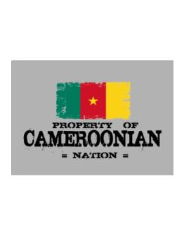 Property of Cameroonian Nation Sticker