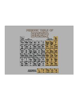 Periodic Table of Beer Sticker