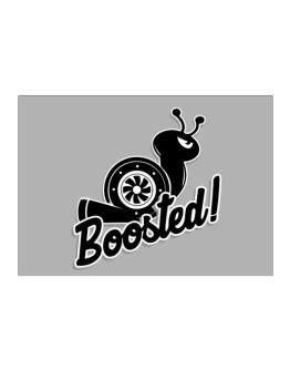 Boosted turbo snail Sticker