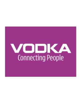 Vodka Connecting People Sticker