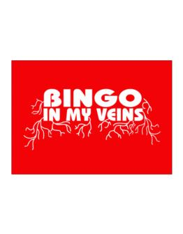 Bingo In My Veins Sticker