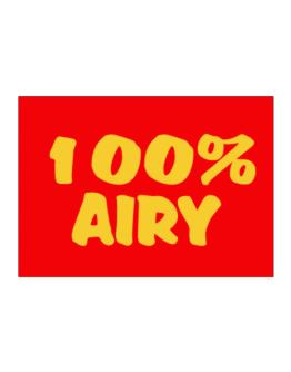 100% Airy Sticker
