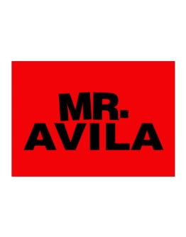 Mr. Avila Sticker