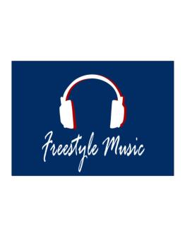 Freestyle Music - Headphones Sticker