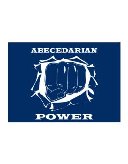 Abecedarian Power Sticker