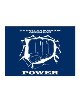 American Mission Anglican Power Sticker