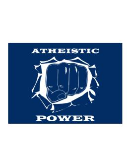 Atheistic Power Sticker