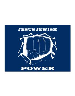 Jesus Jewish Power Sticker